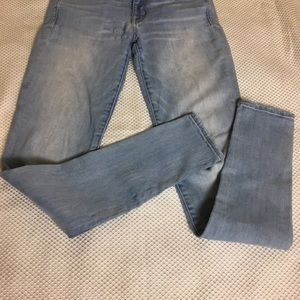 American Eagle wash skenny jeans size 4